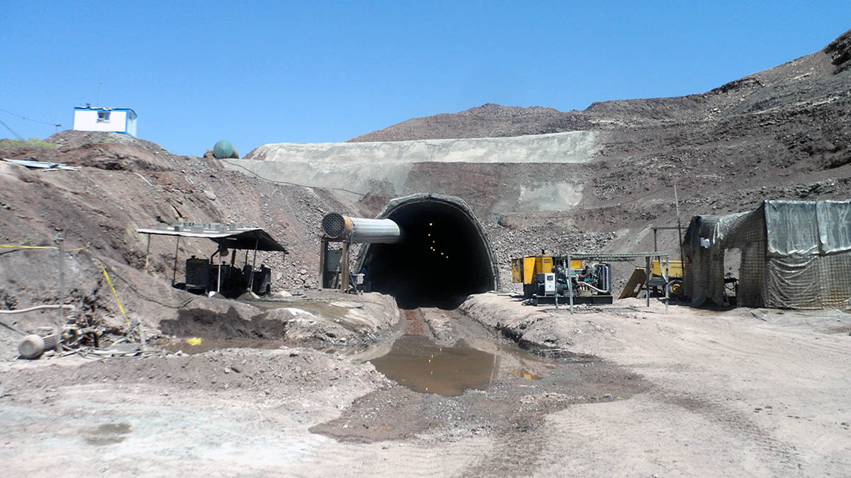 Kermanshah- Khosravi Railway Tunnels