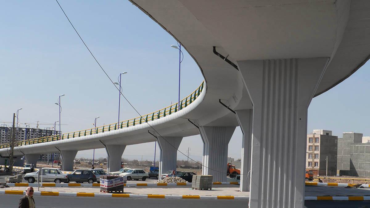 Shahid Rajaee (Kosar) Interchange Bridge