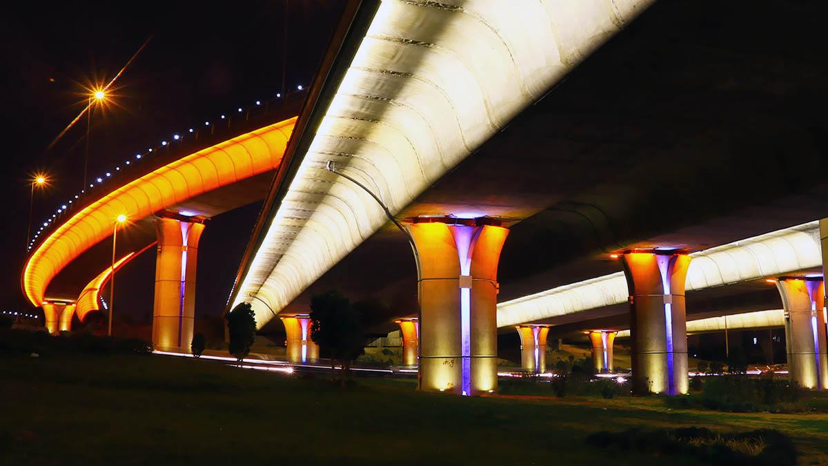 Jenah Multi-Level Interchanges