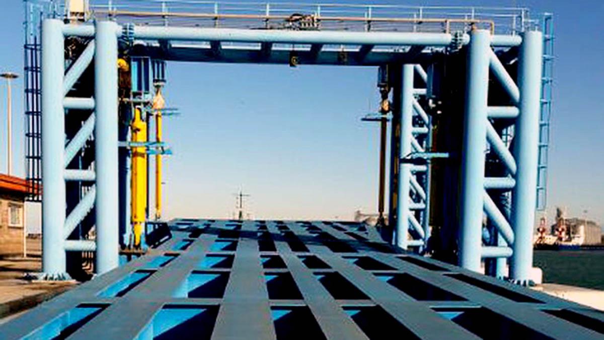 Amirabad Port RORO Dock