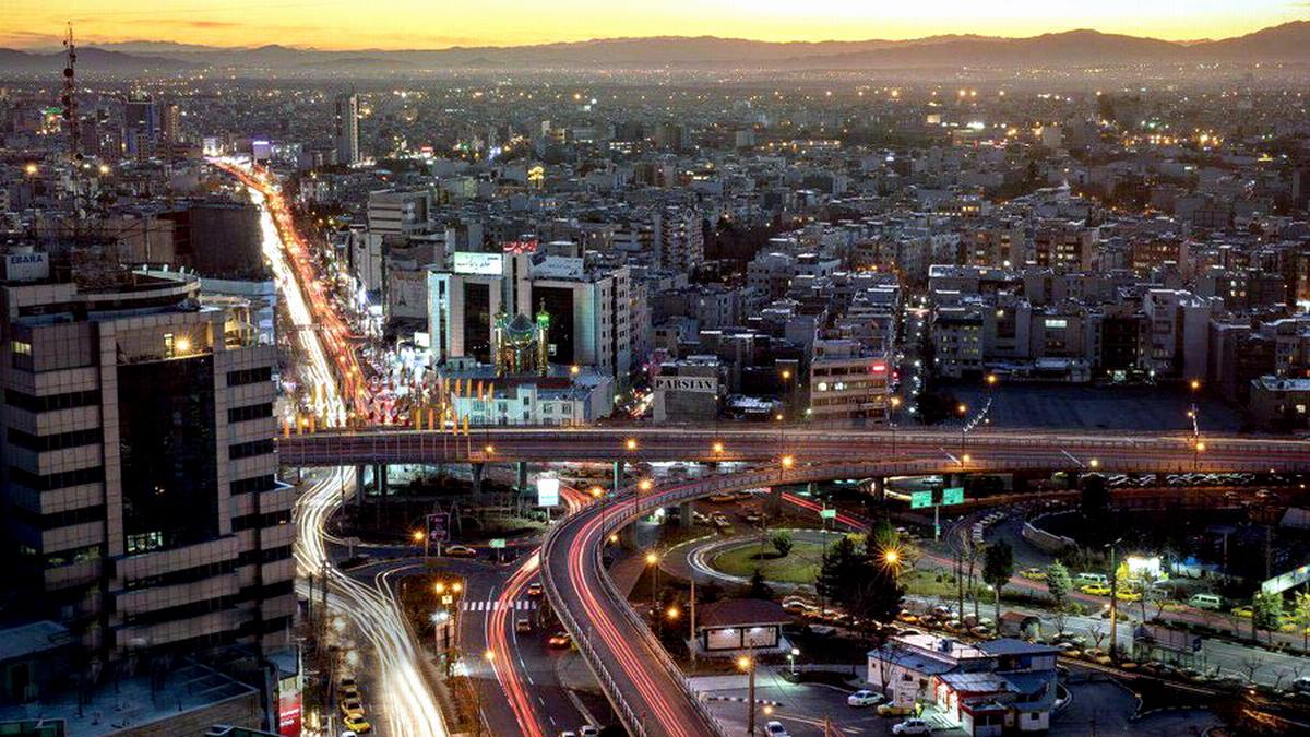 Azadegan Karaj Bridge