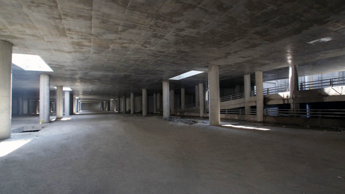Baghe Goldasteh Underpass and Parking Lot