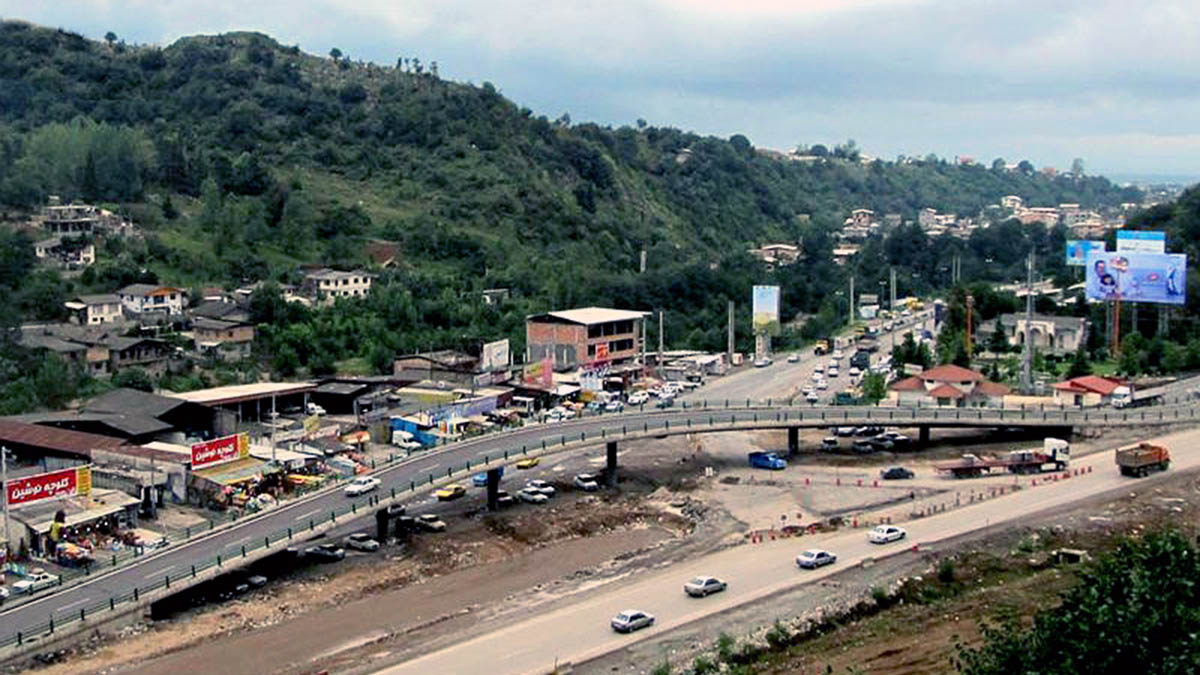 Chaloos- Nowshahr Multi level Bridges