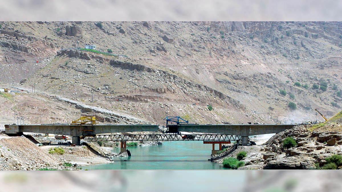 Gotvand Dam Access Bridge