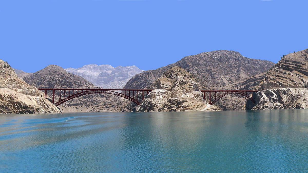 Karoon Third Arc Bridge
