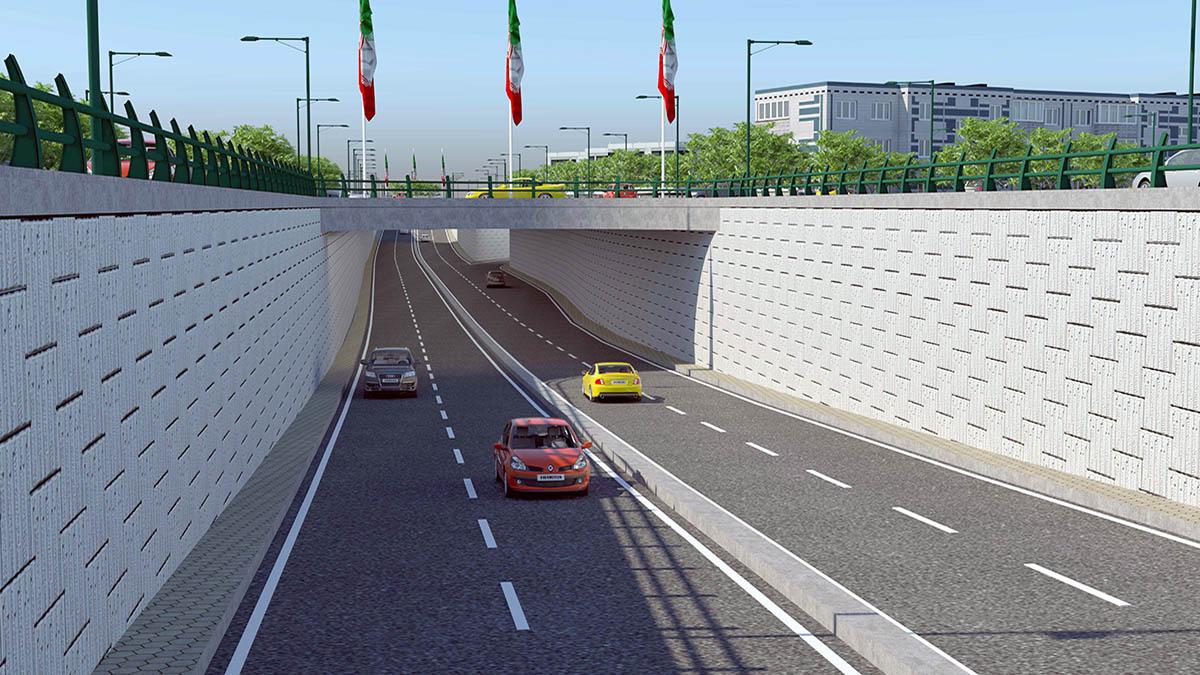 Keyvanfar Underpass