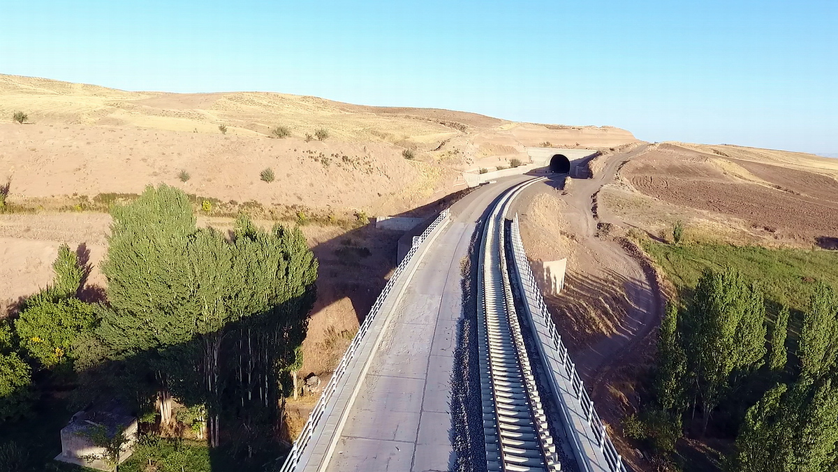 Mianeh- Tabriz Railway (Lot 2&3)