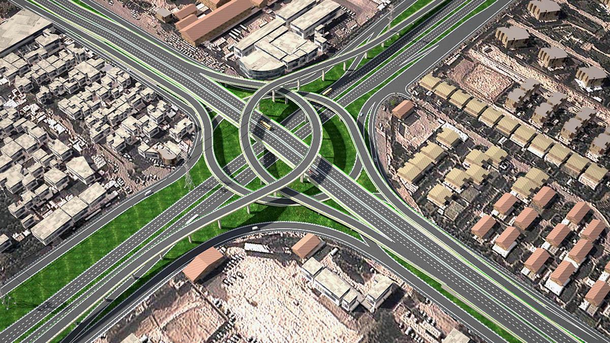 Shahid Bandar Multilevel Interchange