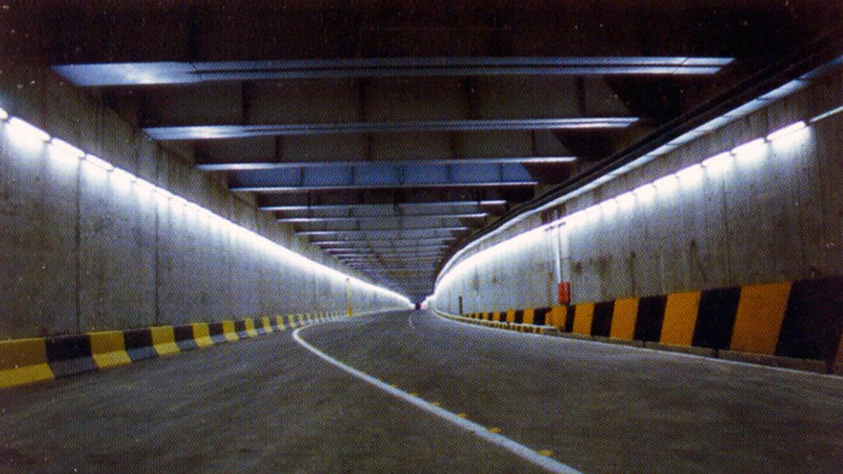 Amirkabir Underpass Bridge and Commercial Buildings