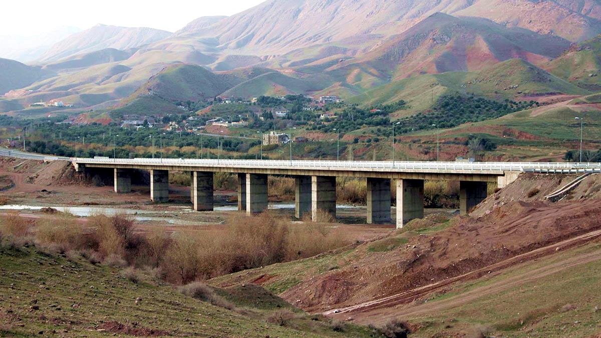 Shahroud River Bridge