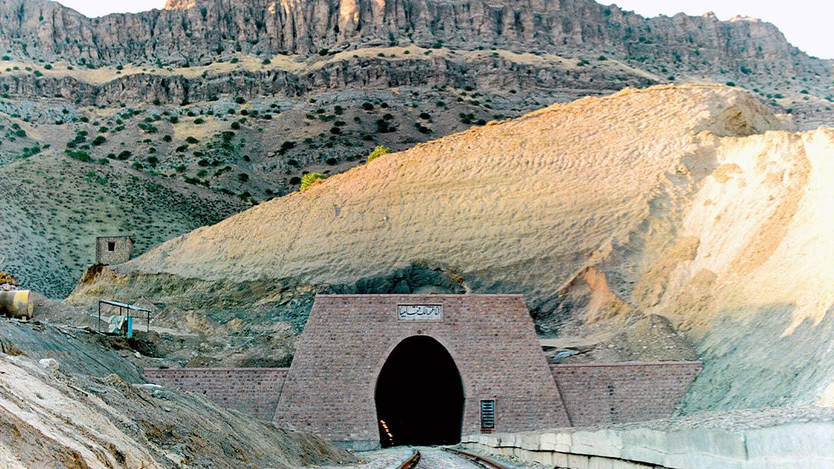 Mashhad- Sarakhs Railway Tunnels